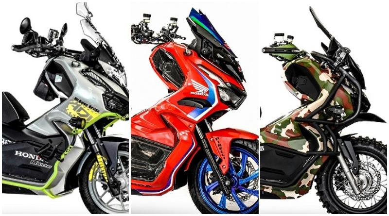 3 Inspirasi Modifikasi Honda Adv 150 Ala Thailand