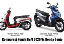 Komparasi Honda BeAT 2020 vs Honda Genio: Pilih Mana?