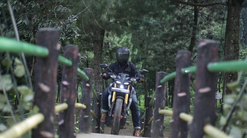 test ride yamaha mt-15