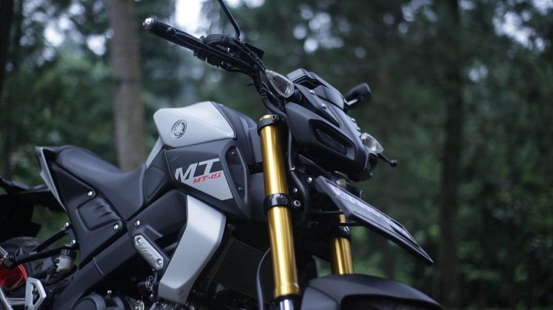 test ride yamaha mt 15 001