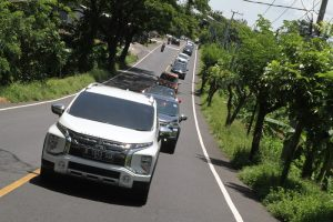 test drive xpander cross di Bali