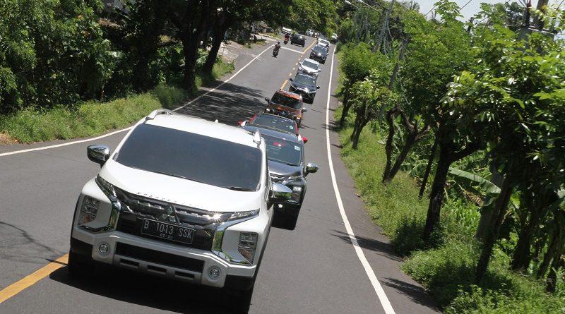 test drive xpander cross di Bali