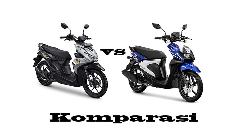 komparasi-yamaha-x-ride-vs-honda-beat-street