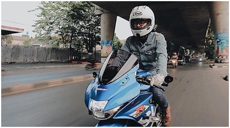 Suzuki GSX-R150 Modifikasi