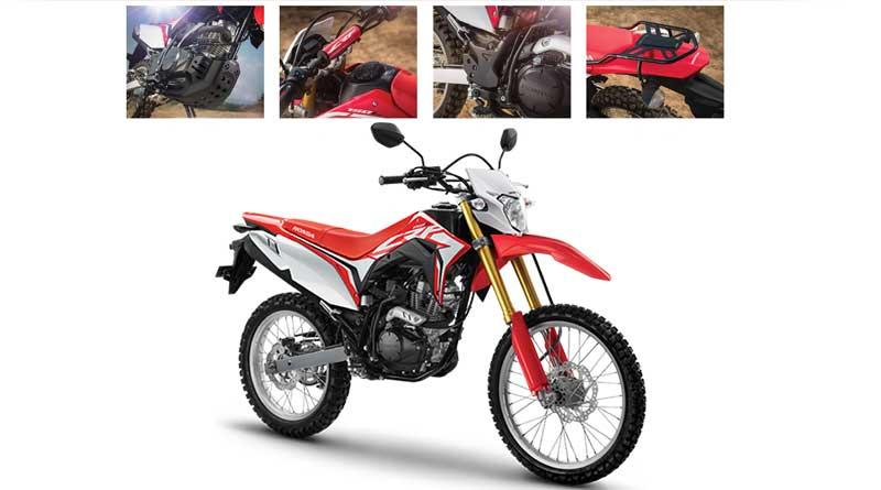 motor trail terbaik honda crf 150l