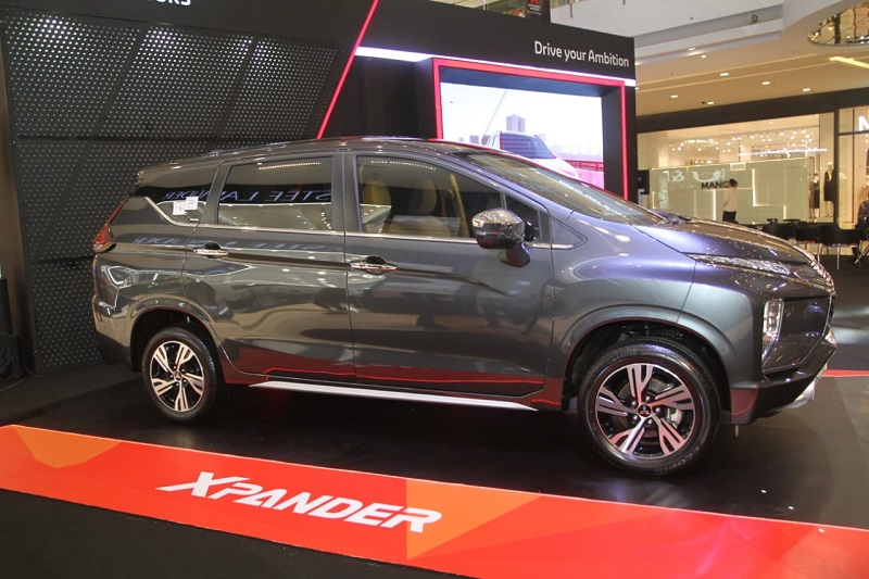 Ground clearance Mitsubishi Xpander