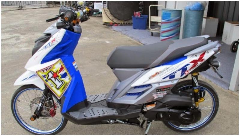 X-Ride modif konsep Thailook