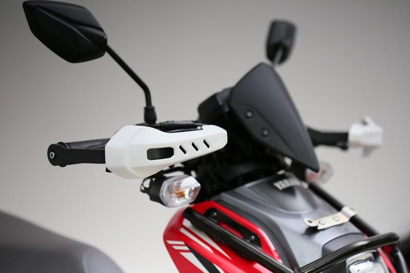Penggunaan hand guard masukan dalam list modifikasi motor X-Ride
