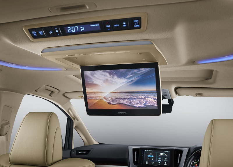 Toyota Alphard Vellfire 2020 dibekali sistem hiburan baru