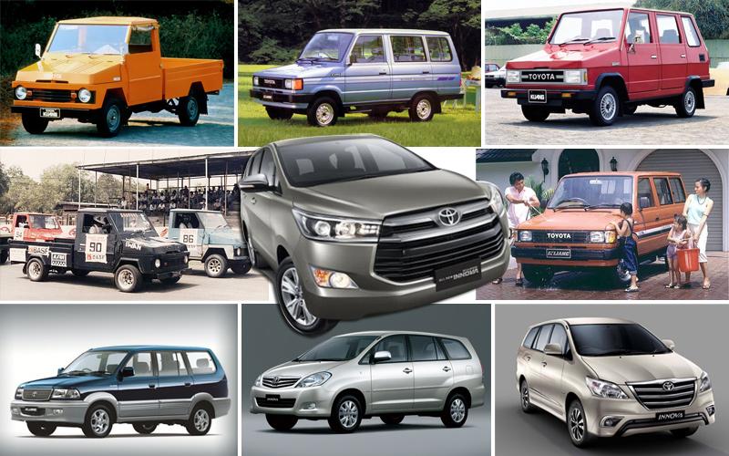 Perjalanan Toyota Kijang di Indonesia