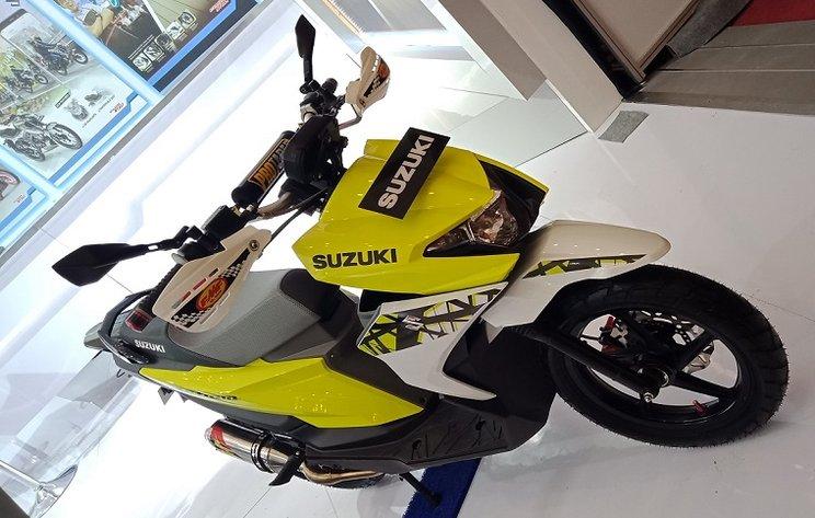 motor baru suzuki