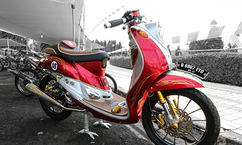 modifikasi motor fino