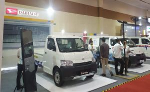 Boorh Daihatsu di GIICOMVEC 2020