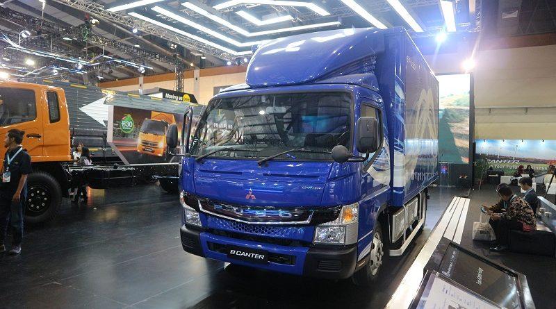 Mitsubishi eCanter truk bertenaga listrik