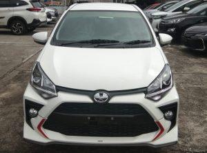Toyota Agya facelift 2020