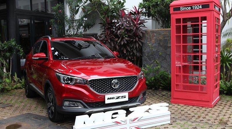 MG ZS siap meluncur di Indonesia