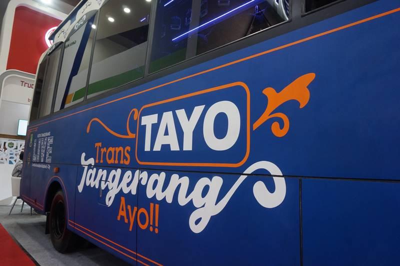 Bus Trans Tangerang Ayo (Tayo)