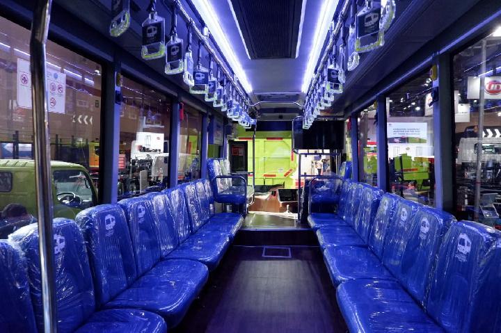 Kabin Bus Tayo di Tangerang