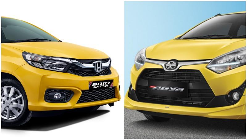 Toyota Agya atau Honda Brio