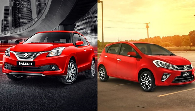 Komparasi Daihatsu Sirion dan Suzuki Baleno
