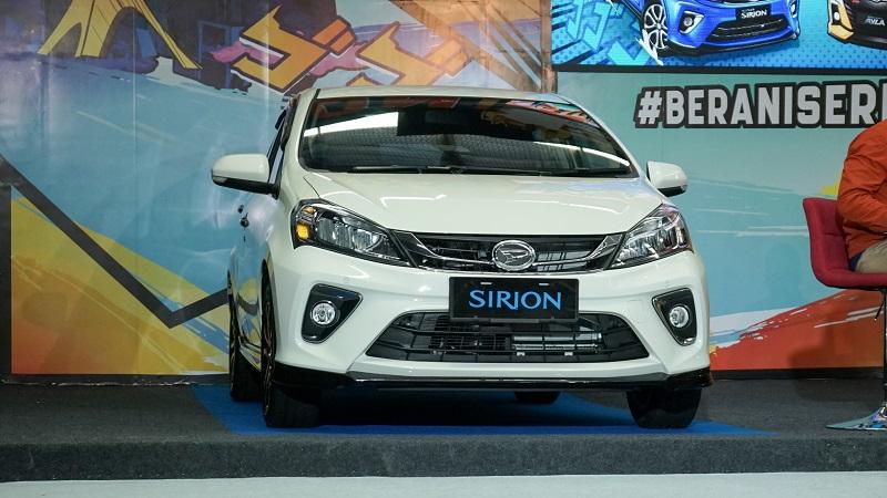 Daihatsu Sirion facelift 2020 harga naik Rp3,7 jutaan
