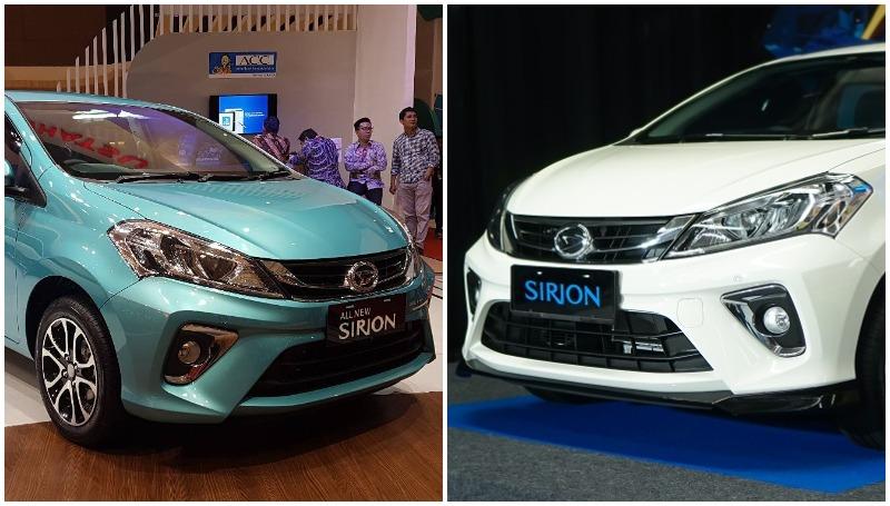 Perbedaan Daihatsu Sirion facelift