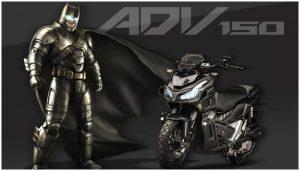 Honda ADV 150 Modifikasi Batman