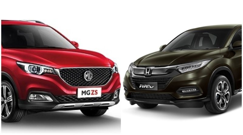 Komparasi MG ZS Vs Honda HR-V