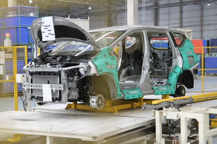 Pabrik Mitsubishi yang memproduksi Livina dan Xpander