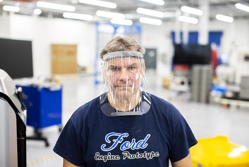 Ford beralih produksi peralatan medis