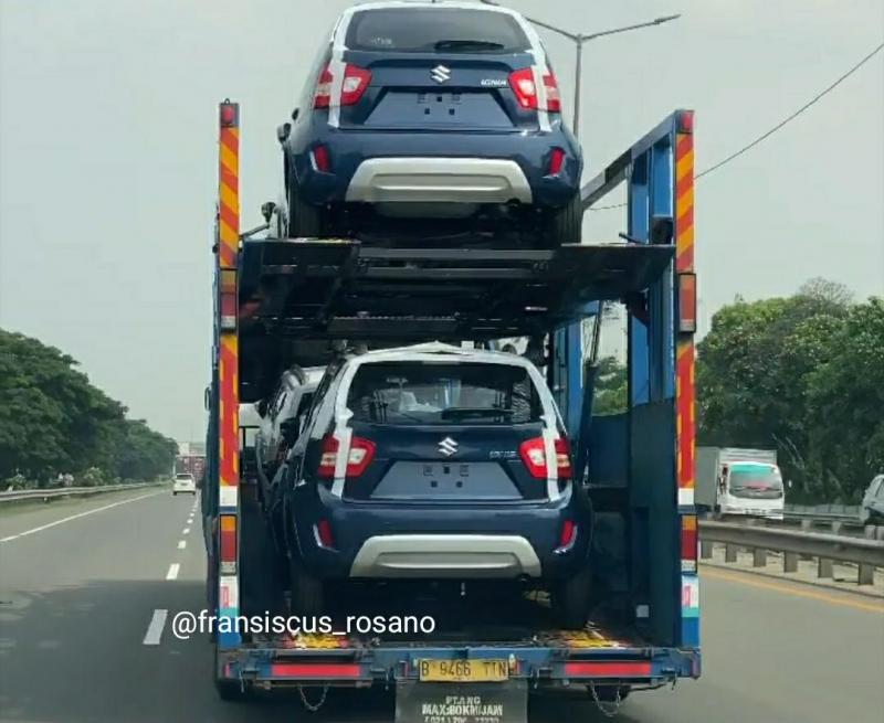 Suzuki Ignis facelift 2020