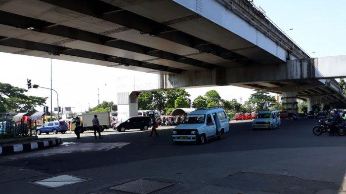 Simulasi penutupan akses jalan Jakarta-Bogor
