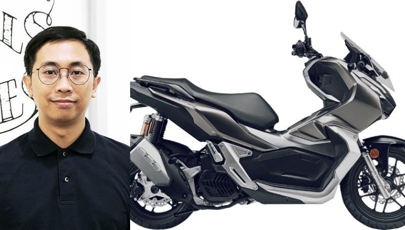 Rantau Mahardika Desainer Honda ADV 150 001
