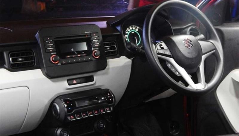 Interior Suzuki Ignis GL
