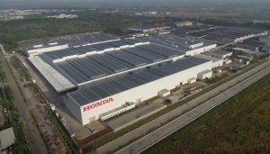 Penjualan Honda Maret menurun, hentikan produksi di Indonesia