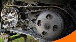 perawatan v-belt motor matik