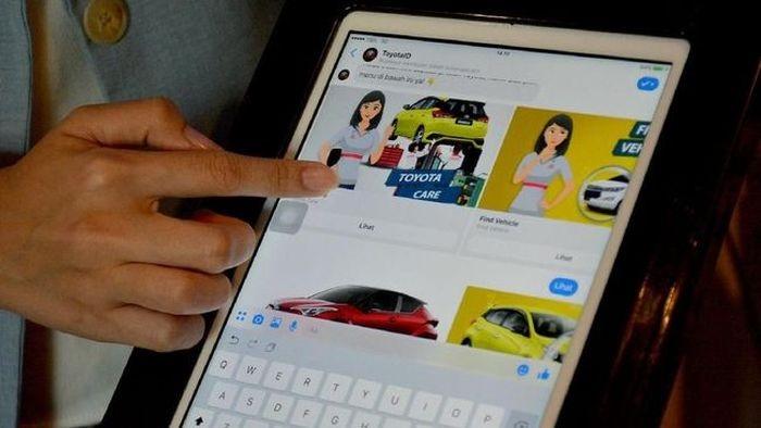 chatbot Toyota