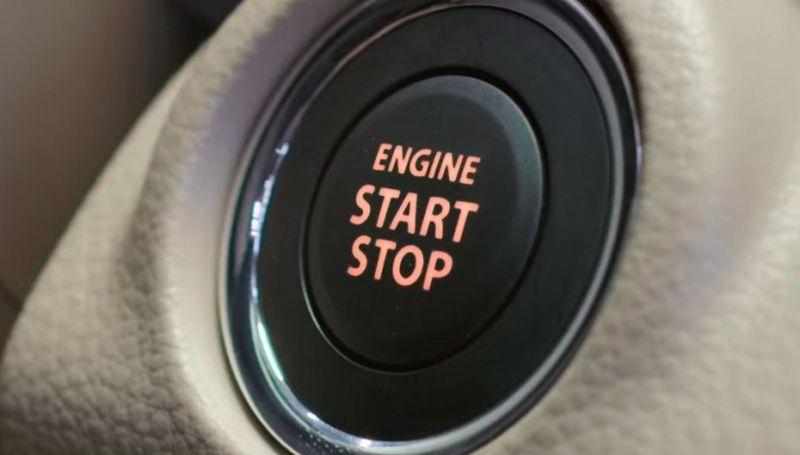 All New Suzuki Ertiga sudah dilengkapi start/stop engine