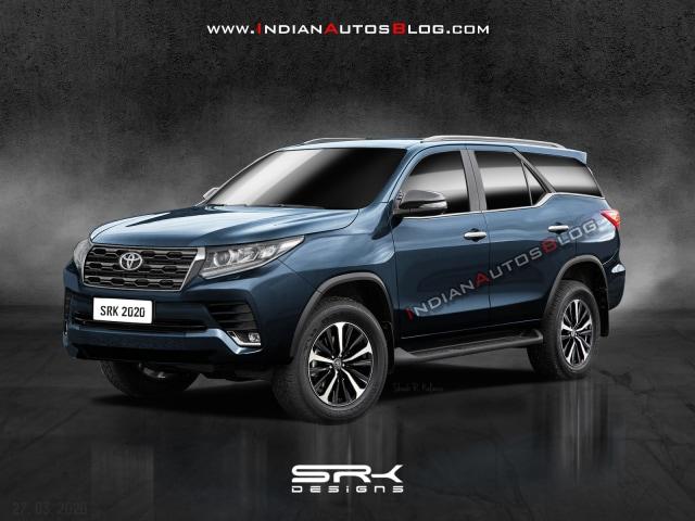 rekayasa desain Toyota Fortuner facelift 2020