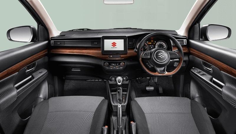 Spesifikasi interior Suzuki Ertiga