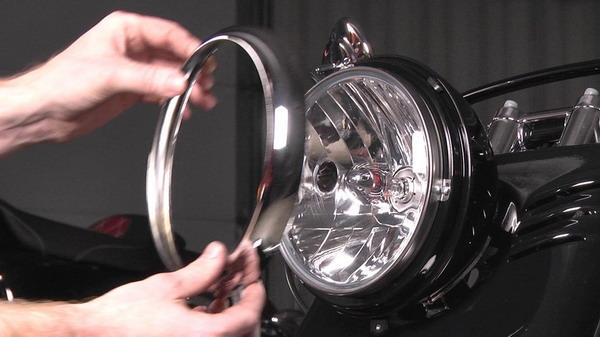 sistem penerangan sepeda motor atau lampu
