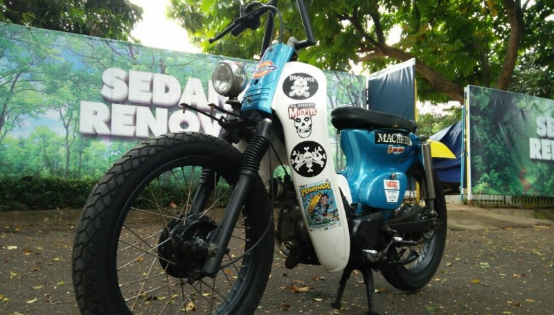 5 Modifikasi Motor Legenda Dan Astrea Grand Terunik Moladin