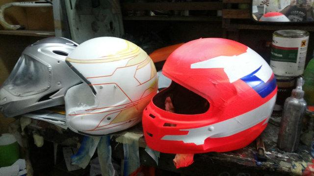 Cara mengecat helm yang dianjurkan