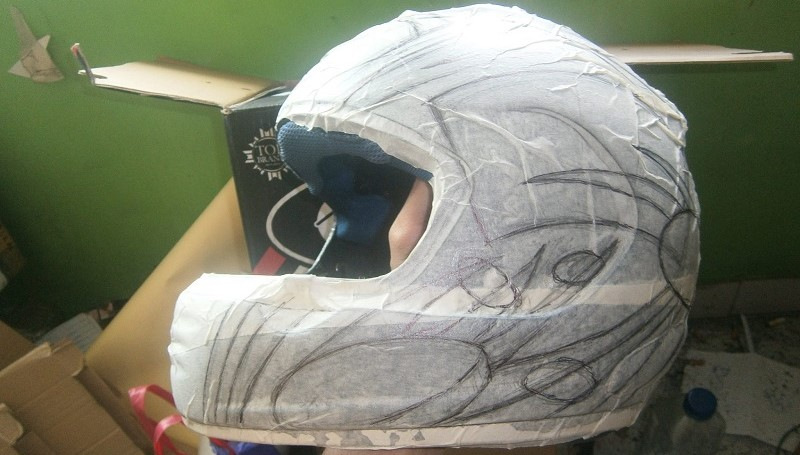 Cara Mengecat Helm Mudah dan Cepat