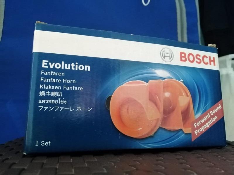 Contoh klakson keong merek Bosch