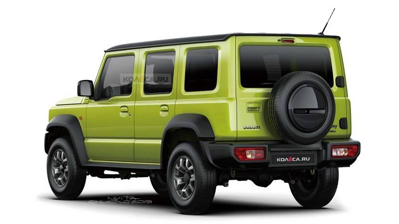 Suzuki Jimny 5-pintu