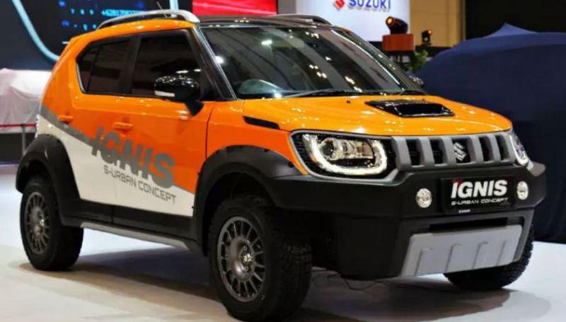 Modifikasi Suzuki Ignis Urban Concept