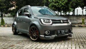 Suzuki Ignis modifikasi ceper