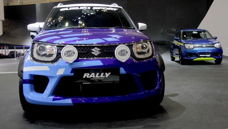 Modifikasi Suzuki Ignis Rally