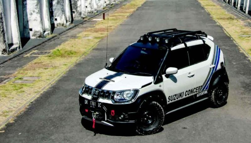 Suzuki Ignis modifikasi Adventure